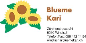 Blueme Kari Zürcherstrasse 24, 5210 Windisch